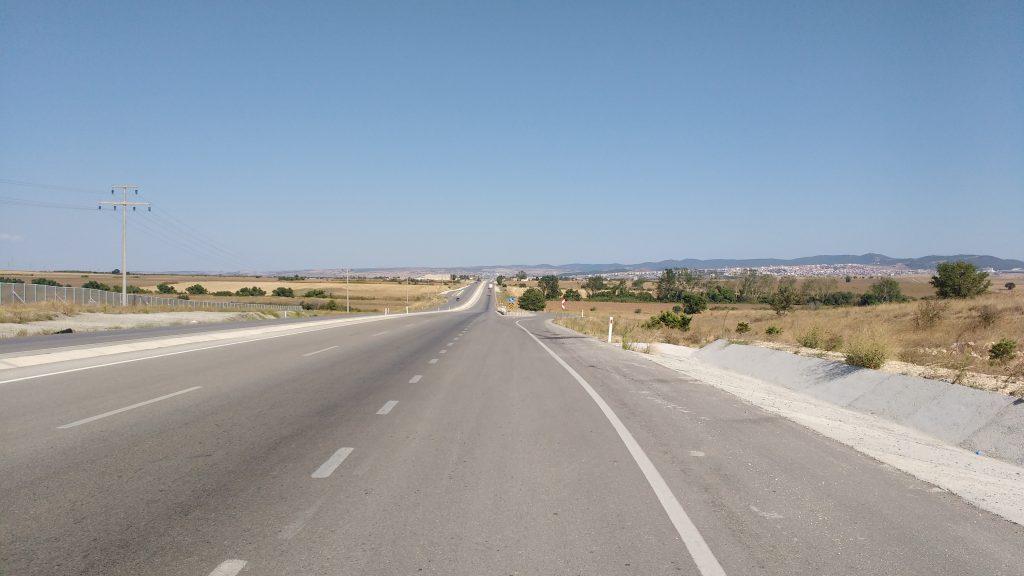 Route interminable en Turquie