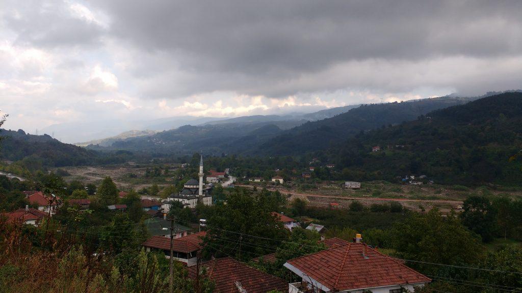 Villages dans les montagnes