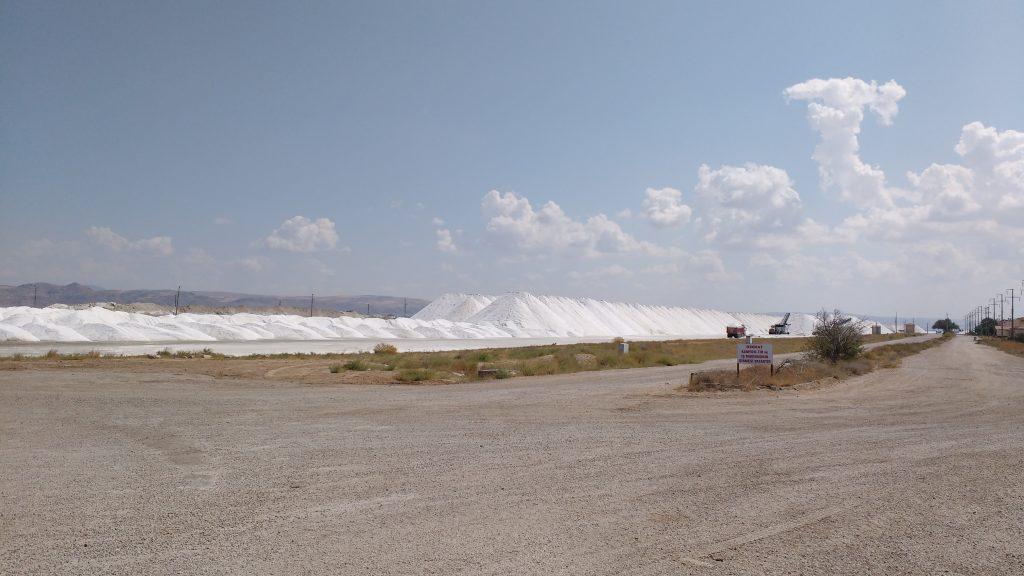 Piles de sel