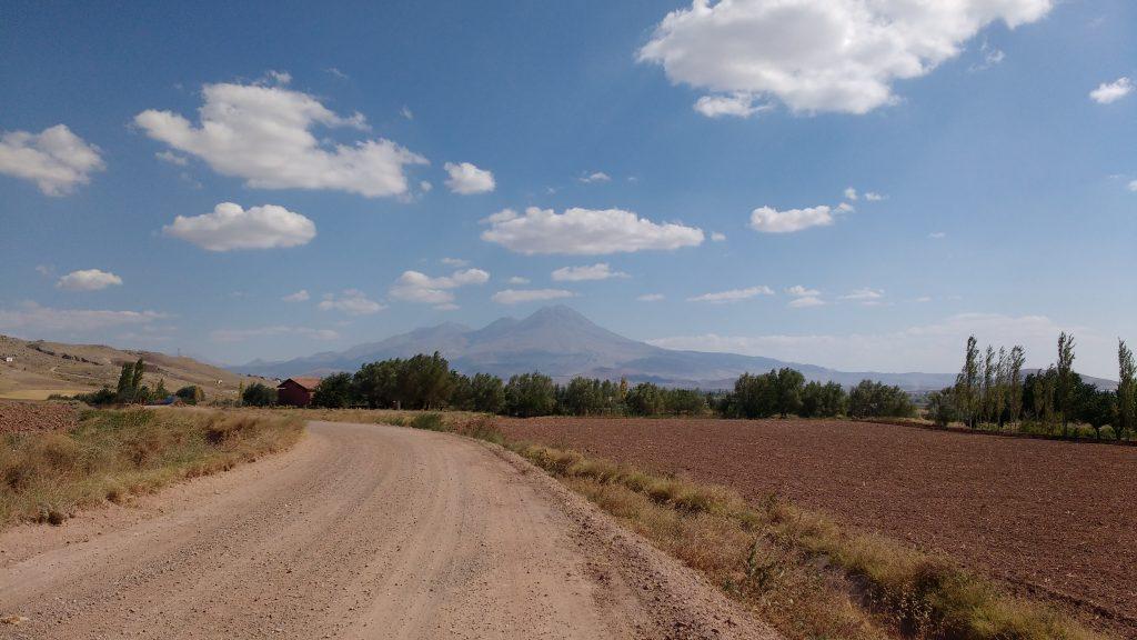 En route vers le Mont Hasan