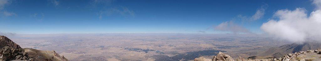 Panorama depuis le sommet du Mont Hasan