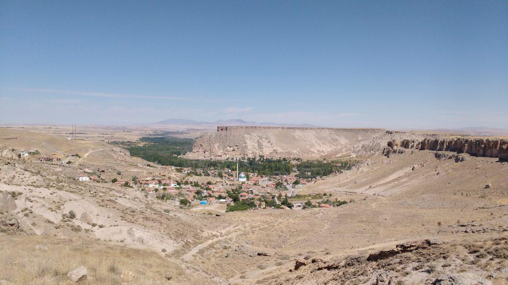 Fin du canyon d'Ilhara