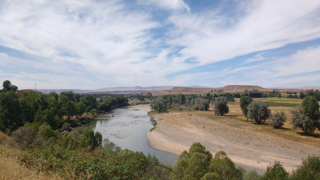 Une des rares rivières pas asséchée