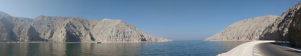 L'entrée d'un fjord