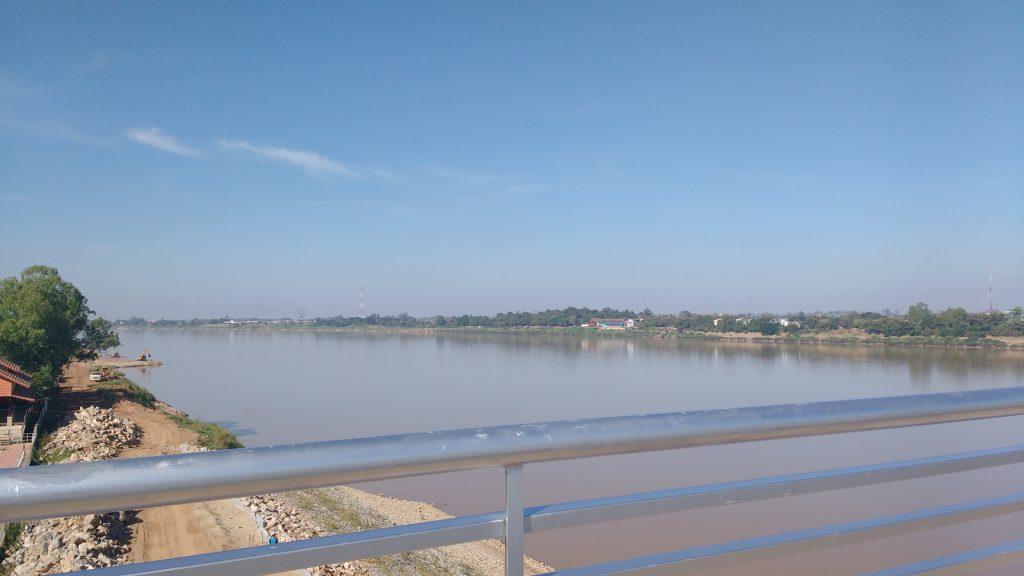 Premier aperçu du Mekong