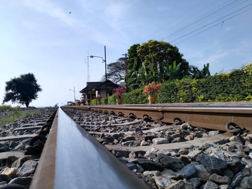 Petite gare de chemin de fer