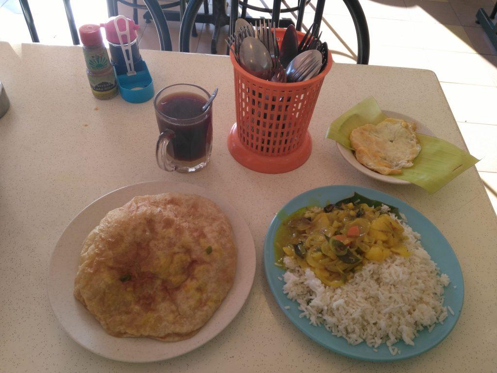 Petit-déjeuner indien