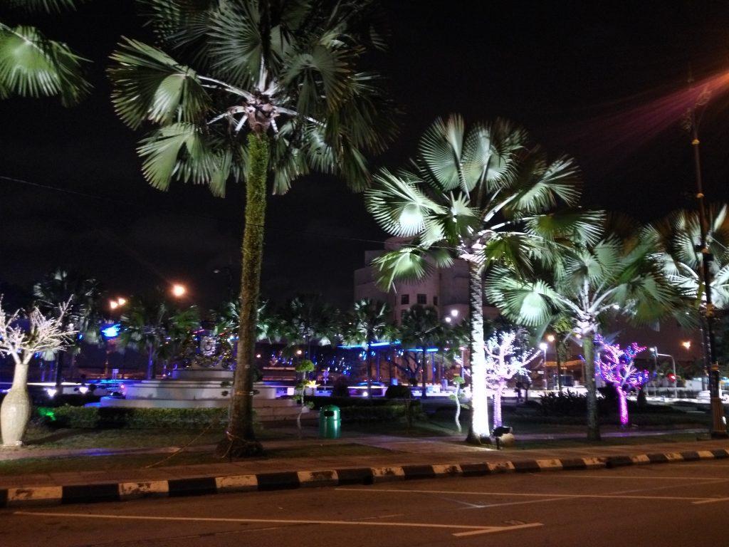 Johor de nuit, c'est de toute beauté