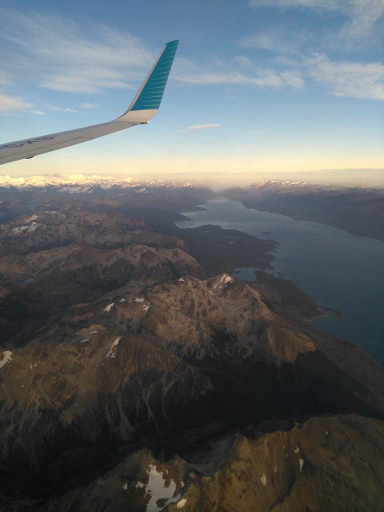 Lago Fagnano en Terre de Feu